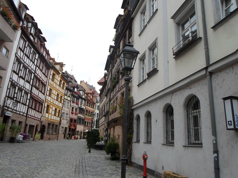 Nuremburg's old town. - Germany