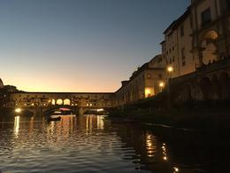 Ponte Vecchio at sunset, dangia - October 2016