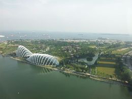 Garden by the Bay and the Indonesian Islands in the background , Mark K. - October 2013