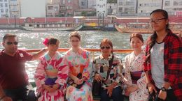 Sumida river cruise , Rais H - May 2016