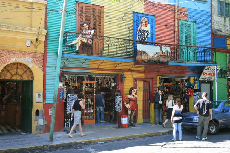 Colors of Caminito, Tango Town - Buenos Aires