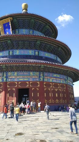 The impressive architecture of Temple of Heaven , URJIT Y - September 2015