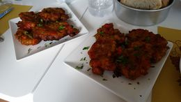 I had never tried tomato fritters before, but they were amazing! , Alison N - April 2015