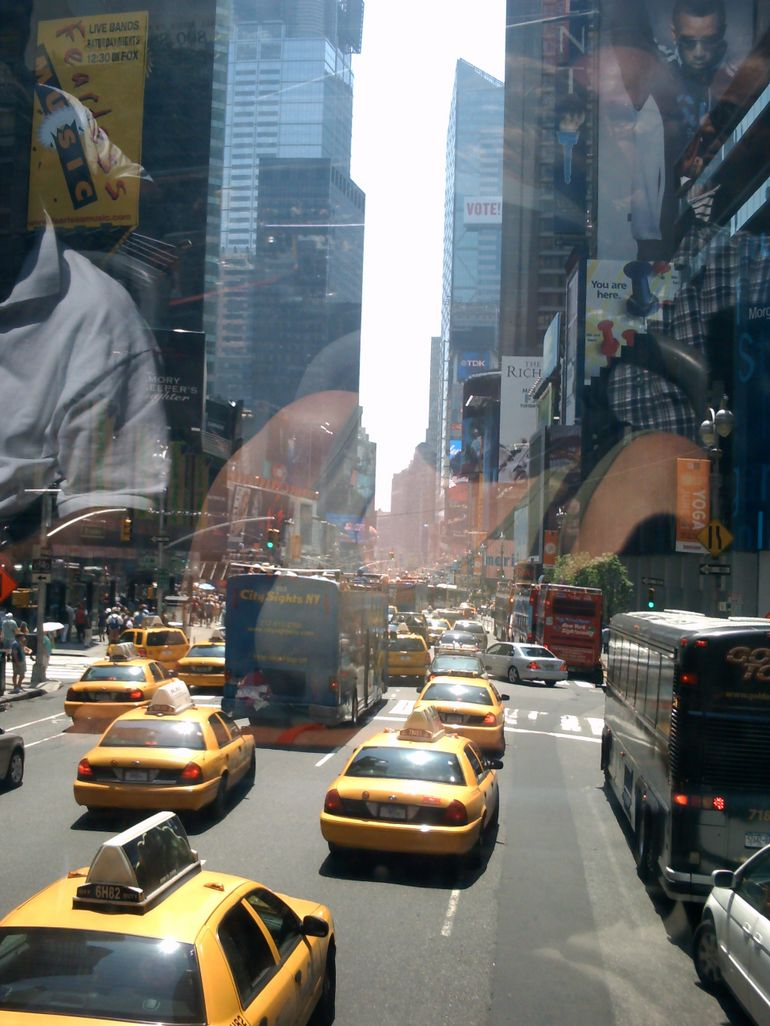 Typical Times Square - New York City