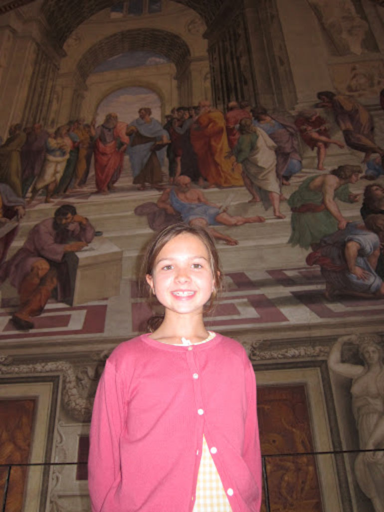 My Daughter in the Vatican - Rome
