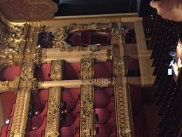 Phantom of the Opera's seat!! , Peggy M - February 2017