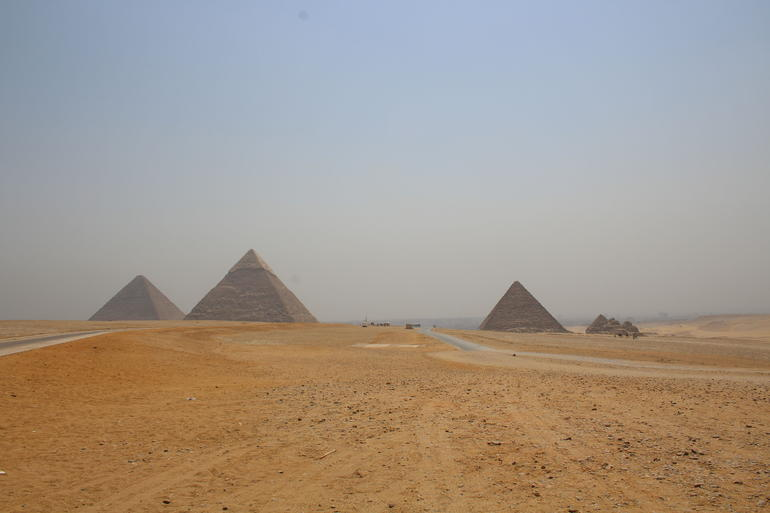 Sightseeing Day Tour to Pyramids, Egyptian Museum and Bazaar from Giza or Cairo photo 36
