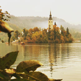 Lake Bled in the mist. , Joshua C - October 2017