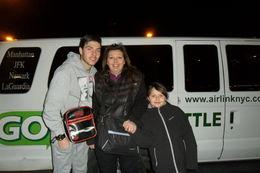 mes enfants et moi meme , pres pour l'aventure NYC , sandrine g - March 2014