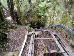 Supposedly this is the world's steepest rail, and it was pretty steep. We're just about to drop over the edge. Worth the extra cost!, Christine C - July 2008