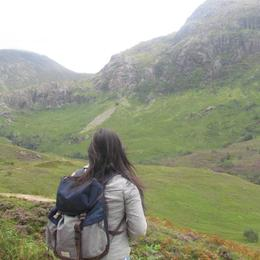 This was during one of our stops in Glen Coe. The beauty of the highlands is mesmerizing. , Ma Maya Mayette G - August 2016