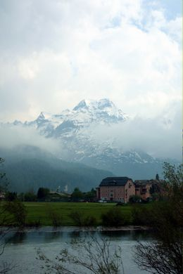 The distant, powdery alps - July 2010