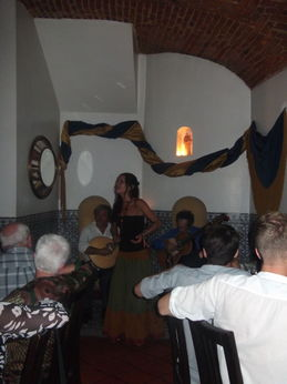ONE OF THE BEAUTIFUL SINGERS FROM THE FADO SHOW , Geraldine K - September 2012