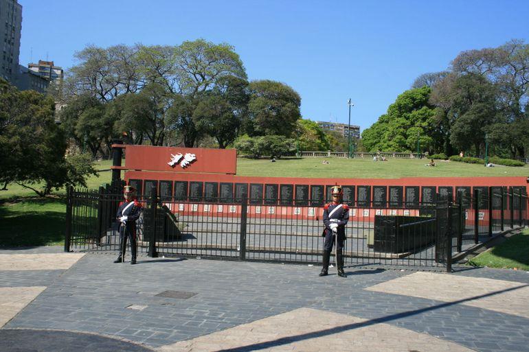 Falklands Memorial - Buenos Aires