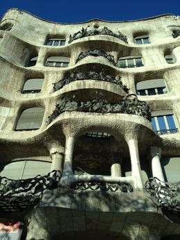 Cannot believe that the person who comissioned Gaudi to build this was not happy to live here. , Marylou - January 2012