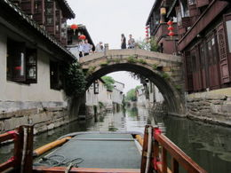 Gondola ride in Zhouzhuang, what a blast!, Julie - June 2012
