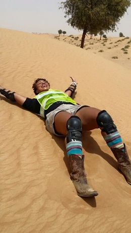Be prepared for the hot sand. You get to take lots of pics , Antoinette J - June 2015