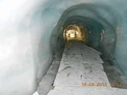 Visit to Ice cave at Top of Mount Titlis , SHUBHANG V - September 2013
