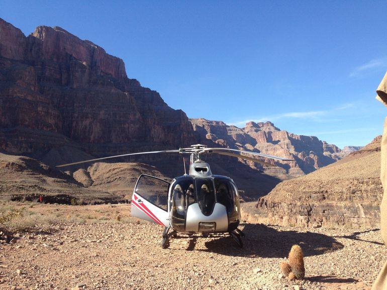 In de Grand Canyon - Las Vegas