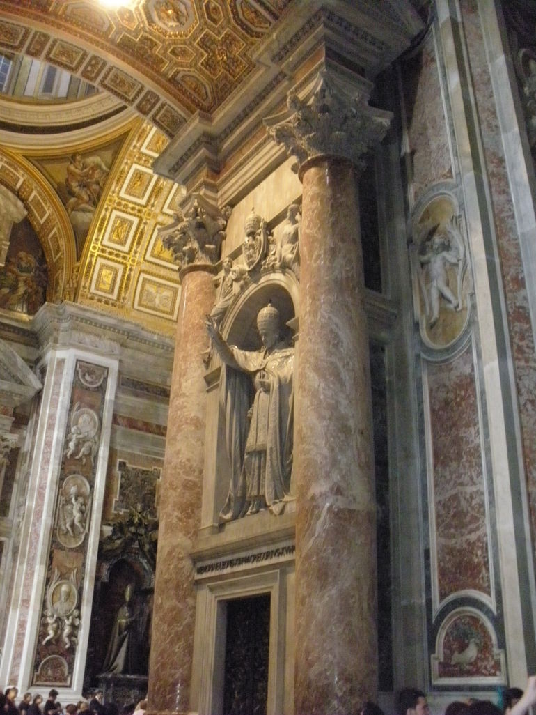 in St Peter's Basilica - Rome