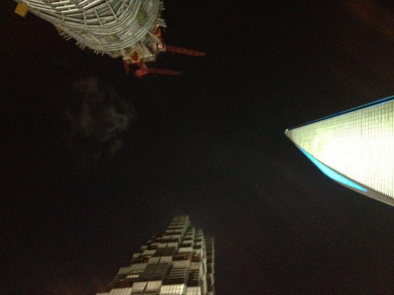 Looking up - Shanghai