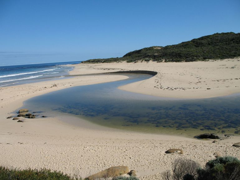 Mouth of the Margaret River - Perth