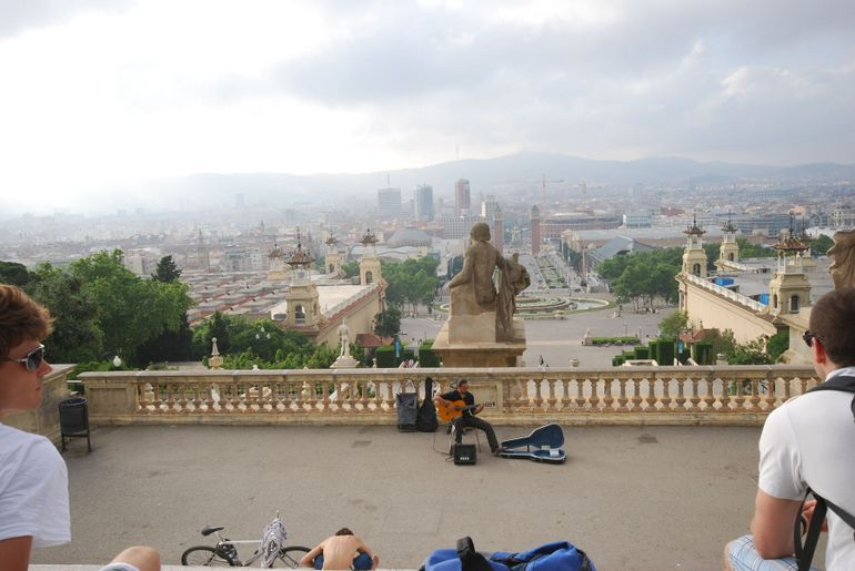 Museu Nacionale D'Art De Catalunya City View - Barcelona