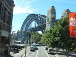 Approaching the Sydney Harbour Bridge , Susan C - May 2011