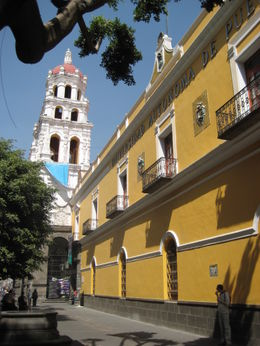 Beautiful streets of Puebla , Irina F - March 2011