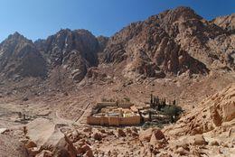 St Catherine's Monastery, Sinai, Egypt - October 2011