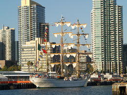 San Diego Harbor Tour - Friday, August 15, 2014 interesting Tall-Masted Ship , Carrie Mc - August 2014