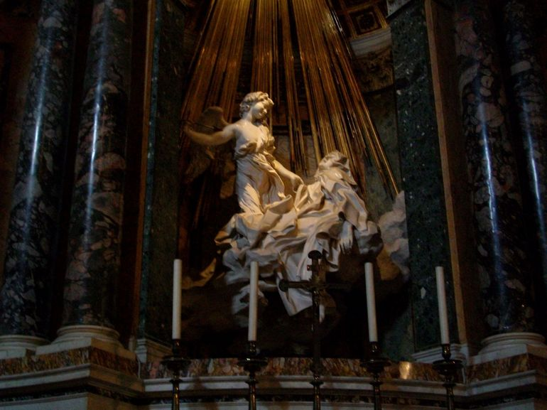 The agony & ecstasy of St Teresa - Rome