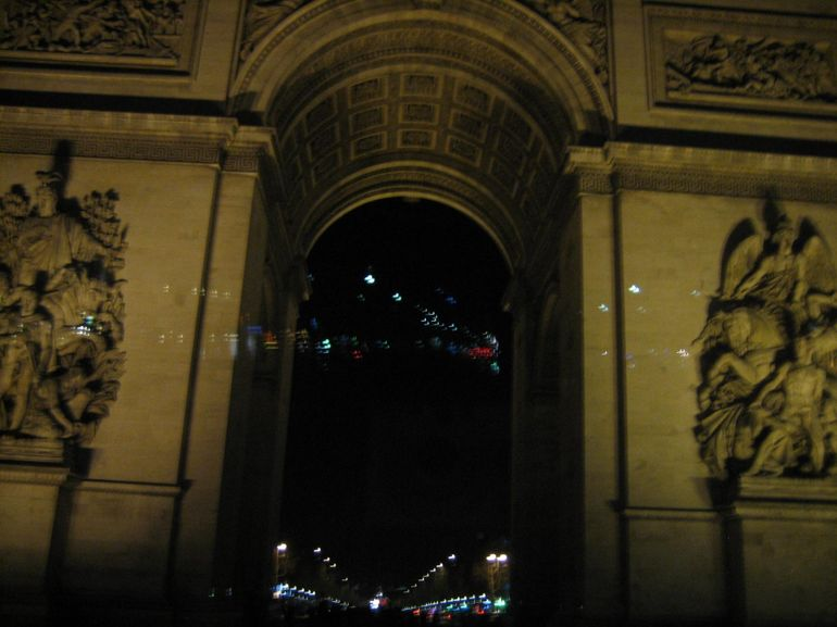 The Arc De Triomphe on the Illuminations Tour - Paris