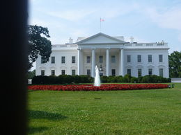 When you stop to see the White house, see both sides. You can get closer if you go to the front of the White House. , Michelle M V - July 2014