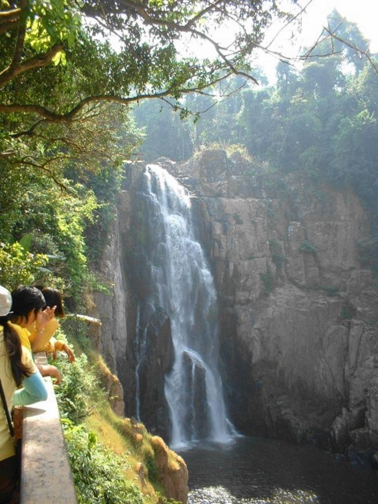 To the waterfall - Bangkok