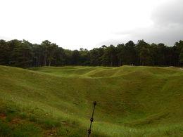 Preserved No Man's Land at Vimy Ridge , jatypan - September 2015