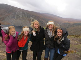 The New Hampshire girls are and quot;blown away and quot; by Wicklow mountains , John H - December 2013