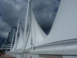 Canada Place, Burrard Inlet, Vancouver, BC , Lynn G - July 2017