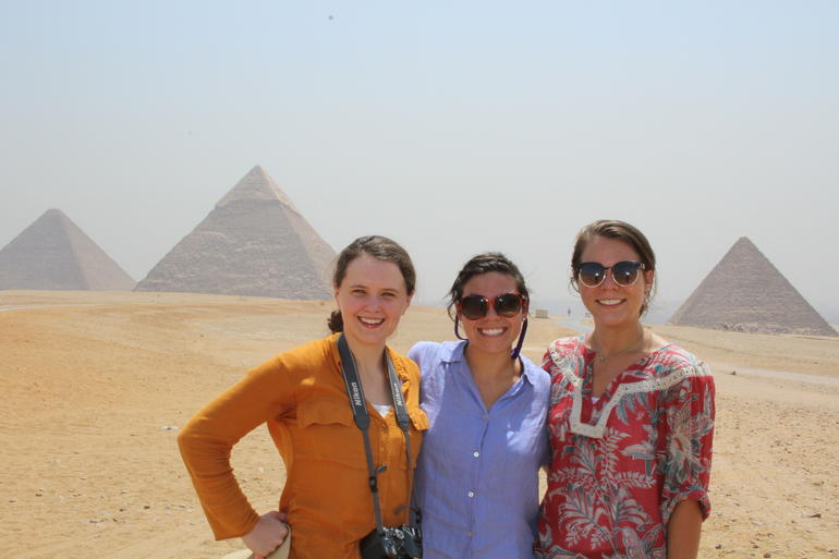Sightseeing Day Tour to Pyramids, Egyptian Museum and Bazaar from Giza or Cairo photo 35