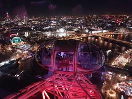 Veiw from London Eye , Annelore W - December 2017