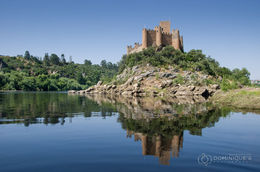 Almourol Castle seen from the river during the short boat transfer. , Dominique S - June 2015