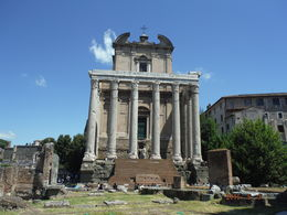 One of the structures on the Ancient Rome Tour. , Rita J - May 2016