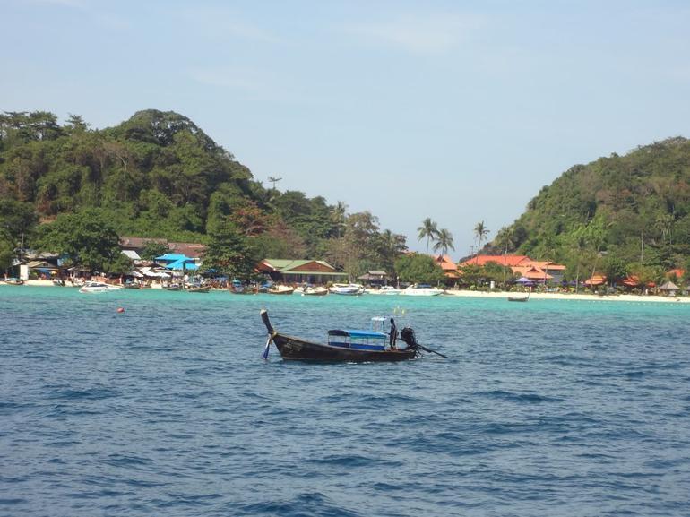Approaching Phi Phi - Phuket
