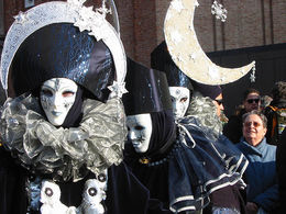 Venice Carnival masks - May 2011