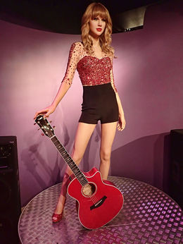 Taylor Swift moved to Nashville, Tennessee, at the tender age of 14 to pursue a career in country music. , Mary H - May 2015