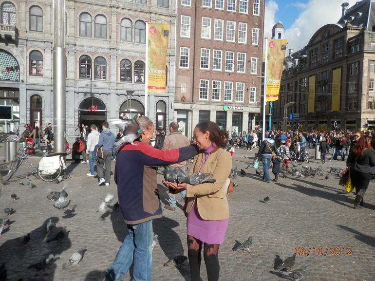 Dam Square, Amesterdam - Brussels