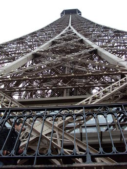 Blick vom 2.Stock des Eiffelturms , Evelyn S - November 2013