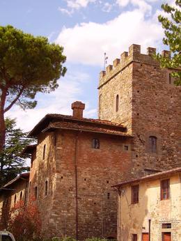 Outside the castle walls. - September 2008