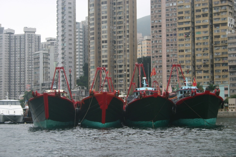 Fishing Boats - Hong Kong