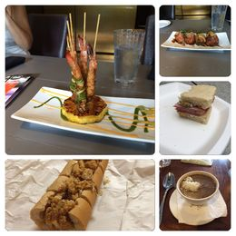 Just pics of some of the food we sampled. , Eugene B - October 2015